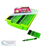 Show-Me Dry Wipe Pens in Gratnells Tray (200 Pack) GTC200