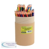 ReCreate Treesaver Colouring Pencils Assorted (72 Pack) TREE72COLT