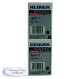 COLOP Reiner B6K Replacement Ink Pad Black (2 Pack) RB6KINK