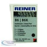 COLOP Reiner B6/8K Replacement Ink Pad Black (2 Pack) RB8KINK