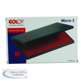 COLOP Micro 3 Stamp Pad Red MICRO3RD