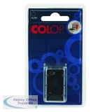 COLOP E/20 Replacement Ink Pad Black (2 Pack) E20BK