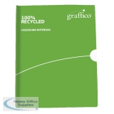 Graffico Recycled Casebound A6 Feint Ruled Notebook 160 Pages 9100034