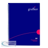 Graffico Twin Wire Hard Cover A4 Notebook 160 Pages 500-0510