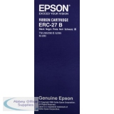 Epson ERC27 Black Fabric Ribbon For TM-U290/M-290 C43S015366