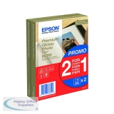 Epson Premium Glossy Photo Paper 100x150mm 2-for-1 (40 + 40 Free Pack) C13S042167