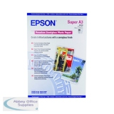 Epson A3 Premium Semi-Gloss Photo Paper A3+ 250gsm (20 Pack) C13S041328