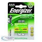 Energizer Rechargeable Battery AAA HR03 Pack of 2 625996