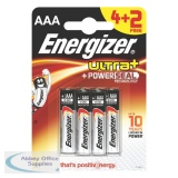 Energizer Ultra Plus Battery AAA Pack of 4+2 630277 Promo Pack