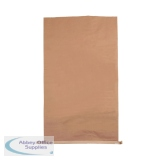 Plain Paper Waste Sack 485x150xH910mm Brown (50 Pack) 47121701