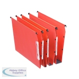 Esselte Orgarex Orange Lateral A4 File V-Bottom (25 Pack) 21627