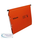 Esselte Orgarex Orange Lateral A4 File 15mm (25 Pack) 21628