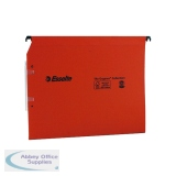 Esselte Orgarex Orange Lateral A4 File 30mm (25 Pack) 21629