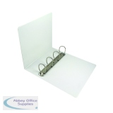 Esselte A4 White 60mm 4 D-Ring Presentation Binder 49706