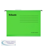 Esselte Classic A4 Green Suspension File (25 Pack) 90318