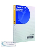 Filofax Personal Ruled White Paper (30 Pack) 133008