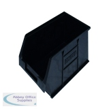 Barton Topstore Container TC3 Recycled (10 Pack) Black 010038