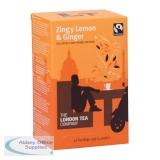 London Tea Zingy Lemon and Ginger Tea (20 Pack) FLT0003