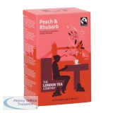 London Tea Peach and Rhubarb Tea (20 Pack) FLT19155