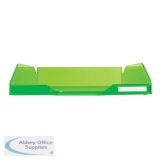 Exacompta Iderama Letter Tray Lime 11397D