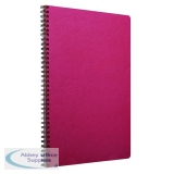 Clairefontaine Age Bag Wirebound Notebook A4 Red (5 Pack) 781452C