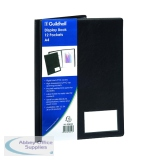 Exacompta Guildhall Display Book 12 Pocket A4 Black CDB12Z
