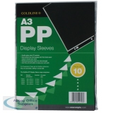 Goldline Polypropylene A3 Display Sleeve (10 Pack) PDSA3Z
