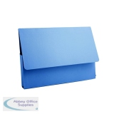 Guildhall Document Wallet 285gsm A4 Blue (50 Pack) PDW4-BLUZ