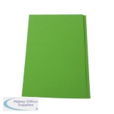 Guildhall Green Square Cut Folder Foolscap (100 Pack) FS315-GRNZ