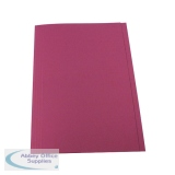 Guildhall Pink Square Cut Folder (100 Pack) FS315-PNKZ