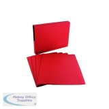 Guildhall Red Square Cut Folder (100 Pack) FS315-REDZ