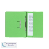 Exacompta Guildhall Pocket Spiral File 285gsm Green (25 Pack) 347-GRNZ