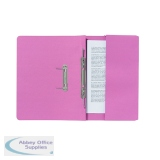 Exacompta Guildhall Pocket Spiral File 285gsm Pink (25 Pack) 347-PNKZ