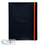 Rhodiarama Soft Cover Notebook 160 Pages B5 Black 117502C