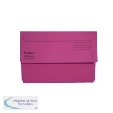 Exacompta Guildhall Forever Document Wallet Manilla Foolscap Bright Pink (25 Pack) 211/5002