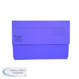 Exacompta Guildhall Forever Document Wallet Manilla Foolscap Bright Purple (25 Pack) 211/5005