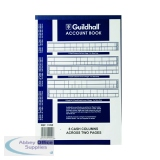 Guildhall 8 Cash Columns Account Book 80 Pages 31/8 1020