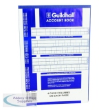 Guildhall 4 Cash Columns Account Book 160 Pages 32/4 1054