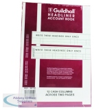 Guildhall 298x203mm Headliner Book 80 Pages 38/12 1150