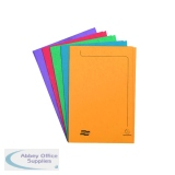 Europa Foolscap Assorted Square Cut Folder (50 Pack) 4820