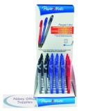 Paper Mate Assorted FlexGrip Ultra Capped Ballpoint Pen Counter Display (36 Pack) S0189342