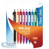 PaperMate InkJoy 300 Retractable Ballpoint Pen Medium Fun Assorted Colours 1927018