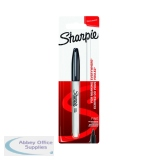 Sharpie Black Permanent Marker Fine (12 Pack) 1985857