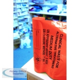 Orange Clinical Waste Medium Duty Sack for Alternative Treatment AT25/M111