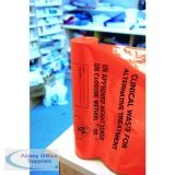 Clinical Waste Sack Heavy Duty Orange (100 Pack) AT25/M085