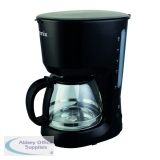 Igenix 1.25 Litre Filter Coffee Maker Black IG8126