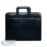 Monolith Drop Handle Executive Leather Look Case Koskin Black 2791