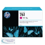 Hewlett Packard No761 Design Jet Inkjet Cartridge 400ml Pack of 3 Magenta CR271A