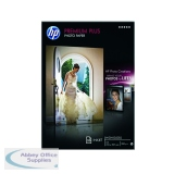 HP White A4 Premium Plus Glossy Photo Paper (20 Pack) CR672A