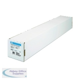 HP Bright White Inkjet Paper 841mm x 45.7m Q1444A